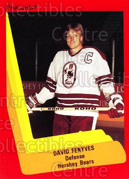 1990-91 ProCards AHL IHL #32 Dave Fenyves<br/>20 In Stock - $2.00 each - <a href=https://centericecollectibles.foxycart.com/cart?name=1990-91%20ProCards%20AHL%20IHL%20%2332%20Dave%20Fenyves...&quantity_max=20&price=$2.00&code=170600 class=foxycart> Buy it now! </a>