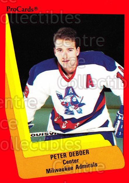 1990-91 ProCards AHL IHL #326 Peter Bakovic<br/>19 In Stock - $2.00 each - <a href=https://centericecollectibles.foxycart.com/cart?name=1990-91%20ProCards%20AHL%20IHL%20%23326%20Peter%20Bakovic...&price=$2.00&code=170606 class=foxycart> Buy it now! </a>