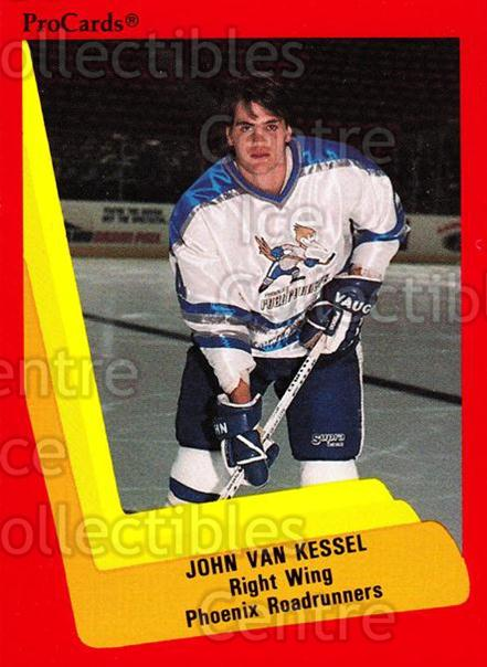 1990-91 ProCards AHL IHL #348 John Van Kessel<br/>5 In Stock - $2.00 each - <a href=https://centericecollectibles.foxycart.com/cart?name=1990-91%20ProCards%20AHL%20IHL%20%23348%20John%20Van%20Kessel...&quantity_max=5&price=$2.00&code=170629 class=foxycart> Buy it now! </a>