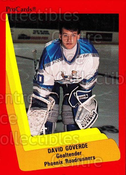1990-91 ProCards AHL IHL #352 David Goverde<br/>2 In Stock - $2.00 each - <a href=https://centericecollectibles.foxycart.com/cart?name=1990-91%20ProCards%20AHL%20IHL%20%23352%20David%20Goverde...&quantity_max=2&price=$2.00&code=170634 class=foxycart> Buy it now! </a>