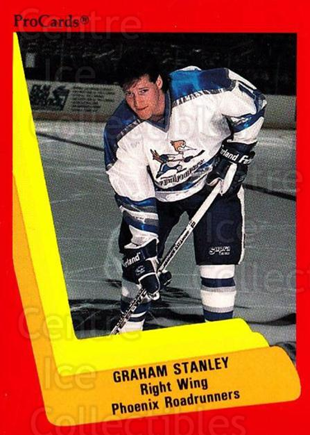 1990-91 ProCards AHL IHL #353 Graham Stanley<br/>1 In Stock - $2.00 each - <a href=https://centericecollectibles.foxycart.com/cart?name=1990-91%20ProCards%20AHL%20IHL%20%23353%20Graham%20Stanley...&quantity_max=1&price=$2.00&code=170635 class=foxycart> Buy it now! </a>