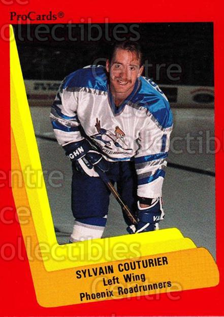 1990-91 ProCards AHL IHL #360 Sylvain Couturier<br/>7 In Stock - $2.00 each - <a href=https://centericecollectibles.foxycart.com/cart?name=1990-91%20ProCards%20AHL%20IHL%20%23360%20Sylvain%20Couturi...&quantity_max=7&price=$2.00&code=170643 class=foxycart> Buy it now! </a>