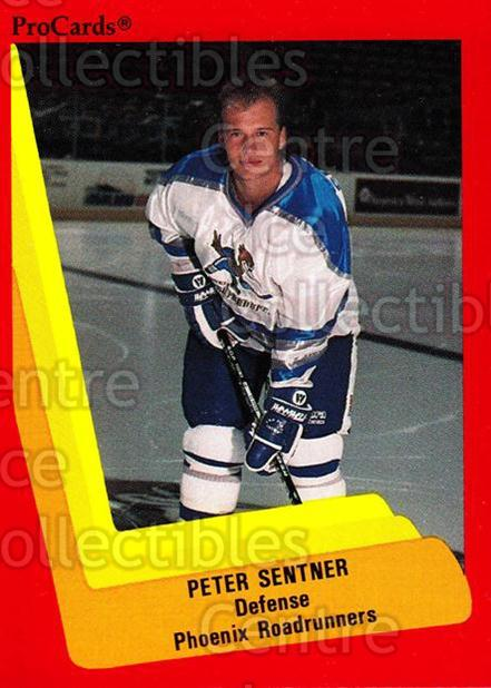 1990-91 ProCards AHL IHL #361 Peter Sentner<br/>7 In Stock - $2.00 each - <a href=https://centericecollectibles.foxycart.com/cart?name=1990-91%20ProCards%20AHL%20IHL%20%23361%20Peter%20Sentner...&quantity_max=7&price=$2.00&code=170644 class=foxycart> Buy it now! </a>
