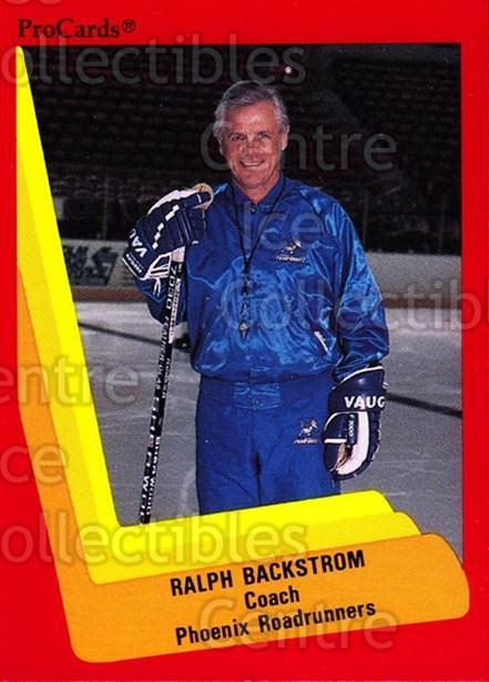 1990-91 ProCards AHL IHL #367 Ralph Backstrom<br/>8 In Stock - $2.00 each - <a href=https://centericecollectibles.foxycart.com/cart?name=1990-91%20ProCards%20AHL%20IHL%20%23367%20Ralph%20Backstrom...&quantity_max=8&price=$2.00&code=170650 class=foxycart> Buy it now! </a>
