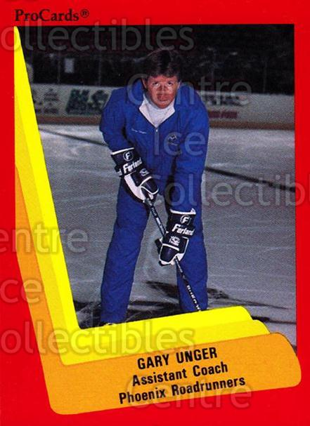 1990-91 ProCards AHL IHL #368 Garry Unger<br/>1 In Stock - $2.00 each - <a href=https://centericecollectibles.foxycart.com/cart?name=1990-91%20ProCards%20AHL%20IHL%20%23368%20Garry%20Unger...&quantity_max=1&price=$2.00&code=170651 class=foxycart> Buy it now! </a>