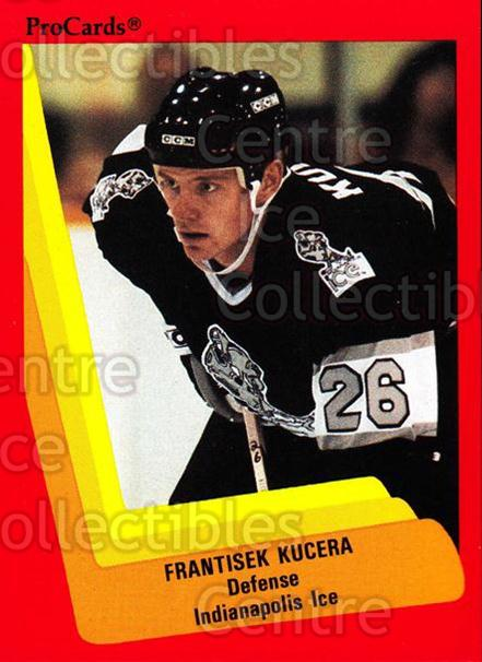 1990-91 ProCards AHL IHL #411 Frantisek Kucera<br/>2 In Stock - $2.00 each - <a href=https://centericecollectibles.foxycart.com/cart?name=1990-91%20ProCards%20AHL%20IHL%20%23411%20Frantisek%20Kucer...&quantity_max=2&price=$2.00&code=170698 class=foxycart> Buy it now! </a>