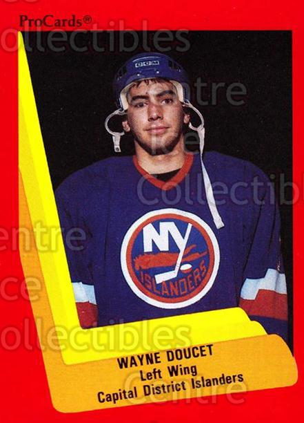 1990-91 ProCards AHL IHL #497 Wayne Doucet<br/>24 In Stock - $2.00 each - <a href=https://centericecollectibles.foxycart.com/cart?name=1990-91%20ProCards%20AHL%20IHL%20%23497%20Wayne%20Doucet...&price=$2.00&code=170789 class=foxycart> Buy it now! </a>