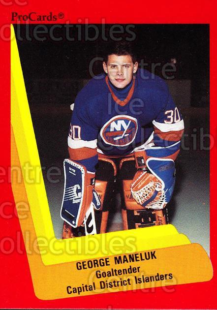 1990-91 ProCards AHL IHL #500 George Maneluk<br/>18 In Stock - $2.00 each - <a href=https://centericecollectibles.foxycart.com/cart?name=1990-91%20ProCards%20AHL%20IHL%20%23500%20George%20Maneluk...&price=$2.00&code=170794 class=foxycart> Buy it now! </a>