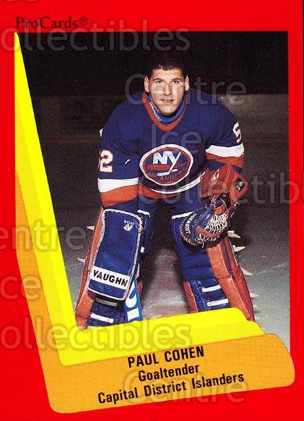1990-91 ProCards AHL IHL #505 Paul Cohen<br/>18 In Stock - $2.00 each - <a href=https://centericecollectibles.foxycart.com/cart?name=1990-91%20ProCards%20AHL%20IHL%20%23505%20Paul%20Cohen...&price=$2.00&code=170799 class=foxycart> Buy it now! </a>