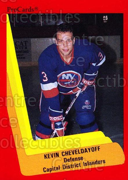 1990-91 ProCards AHL IHL #507 Kevin Cheveldayoff<br/>7 In Stock - $2.00 each - <a href=https://centericecollectibles.foxycart.com/cart?name=1990-91%20ProCards%20AHL%20IHL%20%23507%20Kevin%20Chevelday...&price=$2.00&code=170801 class=foxycart> Buy it now! </a>