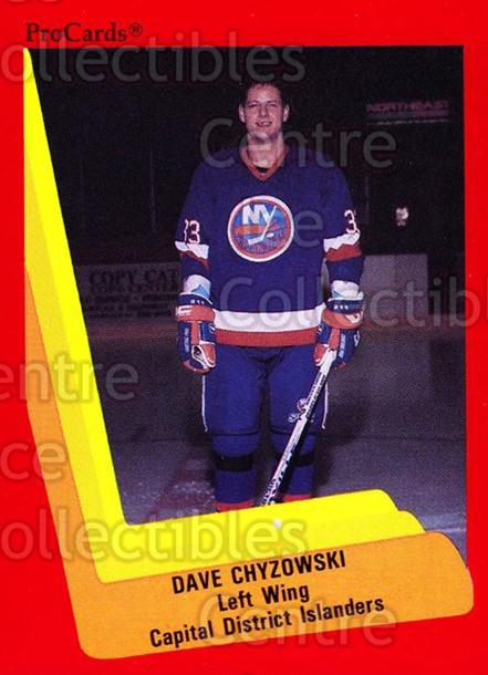 1990-91 ProCards AHL IHL #509 Dave Chyzowski<br/>23 In Stock - $2.00 each - <a href=https://centericecollectibles.foxycart.com/cart?name=1990-91%20ProCards%20AHL%20IHL%20%23509%20Dave%20Chyzowski...&price=$2.00&code=170803 class=foxycart> Buy it now! </a>