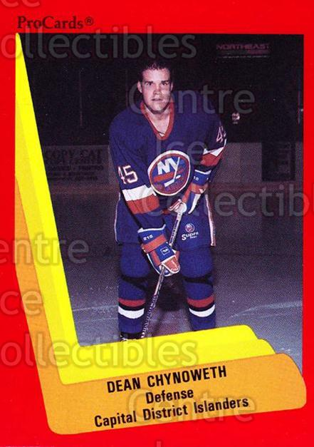 1990-91 ProCards AHL IHL #511 Dean Chynoweth<br/>16 In Stock - $2.00 each - <a href=https://centericecollectibles.foxycart.com/cart?name=1990-91%20ProCards%20AHL%20IHL%20%23511%20Dean%20Chynoweth...&price=$2.00&code=170806 class=foxycart> Buy it now! </a>