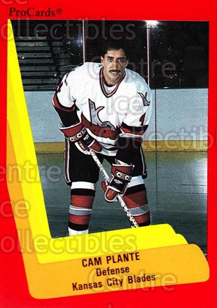 1990-91 ProCards AHL IHL #583 Cam Plante<br/>9 In Stock - $2.00 each - <a href=https://centericecollectibles.foxycart.com/cart?name=1990-91%20ProCards%20AHL%20IHL%20%23583%20Cam%20Plante...&quantity_max=9&price=$2.00&code=170884 class=foxycart> Buy it now! </a>