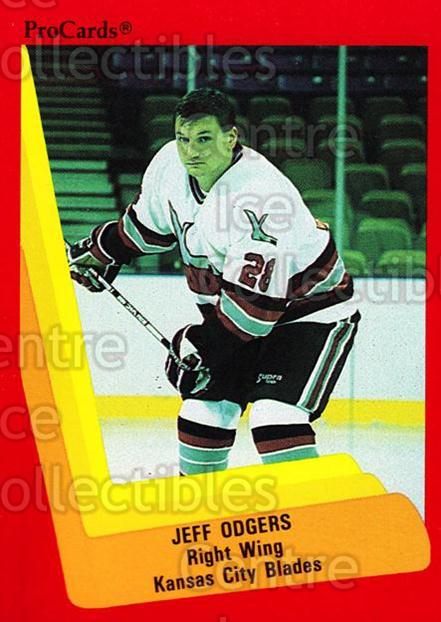 1990-91 ProCards AHL IHL #600 Jeff Odgers<br/>18 In Stock - $2.00 each - <a href=https://centericecollectibles.foxycart.com/cart?name=1990-91%20ProCards%20AHL%20IHL%20%23600%20Jeff%20Odgers...&quantity_max=18&price=$2.00&code=170904 class=foxycart> Buy it now! </a>