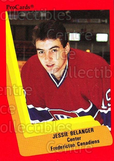 1990-91 ProCards AHL IHL #71 Jesse Belanger<br/>14 In Stock - $2.00 each - <a href=https://centericecollectibles.foxycart.com/cart?name=1990-91%20ProCards%20AHL%20IHL%20%2371%20Jesse%20Belanger...&quantity_max=14&price=$2.00&code=170939 class=foxycart> Buy it now! </a>