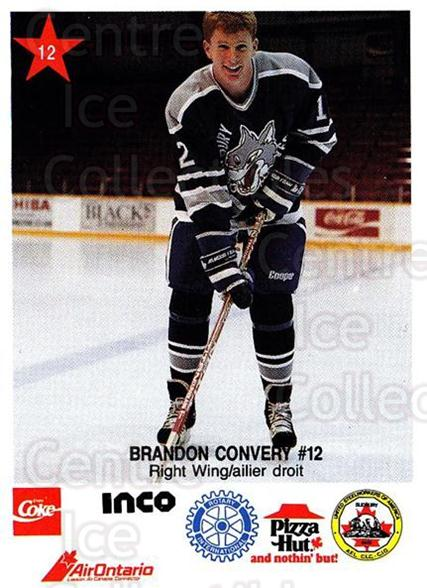 1990-91 Sudbury Wolves Police #12 Brandon Convery<br/>4 In Stock - $3.00 each - <a href=https://centericecollectibles.foxycart.com/cart?name=1990-91%20Sudbury%20Wolves%20Police%20%2312%20Brandon%20Convery...&quantity_max=4&price=$3.00&code=17122 class=foxycart> Buy it now! </a>