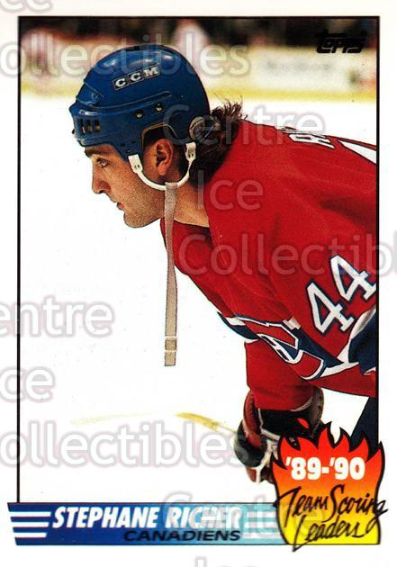 1990-91 Topps Tiffany Team Scoring Leaders #4 Stephane Richer<br/>7 In Stock - $2.00 each - <a href=https://centericecollectibles.foxycart.com/cart?name=1990-91%20Topps%20Tiffany%20Team%20Scoring%20Leaders%20%234%20Stephane%20Richer...&quantity_max=7&price=$2.00&code=17151 class=foxycart> Buy it now! </a>