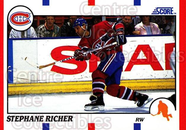 1990-91 Score Hottest and Rising Stars #38 Stephane Richer<br/>15 In Stock - $1.00 each - <a href=https://centericecollectibles.foxycart.com/cart?name=1990-91%20Score%20Hottest%20and%20Rising%20Stars%20%2338%20Stephane%20Richer...&quantity_max=15&price=$1.00&code=171569 class=foxycart> Buy it now! </a>