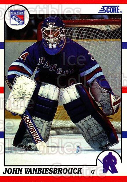 1990-91 Score Hottest and Rising Stars #76 John Vanbiesbrouck<br/>11 In Stock - $1.00 each - <a href=https://centericecollectibles.foxycart.com/cart?name=1990-91%20Score%20Hottest%20and%20Rising%20Stars%20%2376%20John%20Vanbiesbro...&quantity_max=11&price=$1.00&code=171609 class=foxycart> Buy it now! </a>
