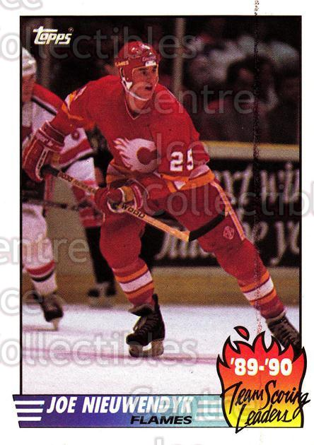 1990-91 Topps Team Scoring Leaders #8 Joe Nieuwendyk<br/>11 In Stock - $1.00 each - <a href=https://centericecollectibles.foxycart.com/cart?name=1990-91%20Topps%20Team%20Scoring%20Leaders%20%238%20Joe%20Nieuwendyk...&quantity_max=11&price=$1.00&code=17171 class=foxycart> Buy it now! </a>