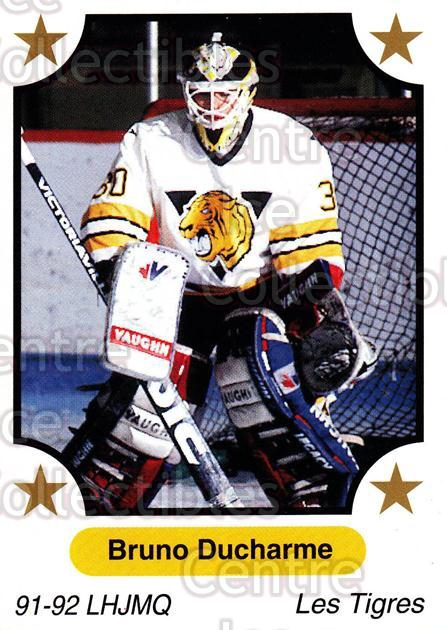 1991-92 7th Inning Sketch QMJHL #250 Bruno Ducharme<br/>6 In Stock - $1.00 each - <a href=https://centericecollectibles.foxycart.com/cart?name=1991-92%207th%20Inning%20Sketch%20QMJHL%20%23250%20Bruno%20Ducharme...&quantity_max=6&price=$1.00&code=171993 class=foxycart> Buy it now! </a>