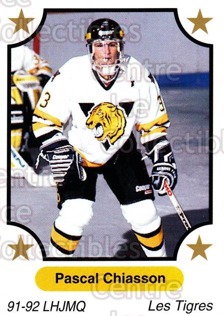 1991-92 7th Inning Sketch QMJHL #253 Pascal Chiasson<br/>7 In Stock - $1.00 each - <a href=https://centericecollectibles.foxycart.com/cart?name=1991-92%207th%20Inning%20Sketch%20QMJHL%20%23253%20Pascal%20Chiasson...&quantity_max=7&price=$1.00&code=171996 class=foxycart> Buy it now! </a>