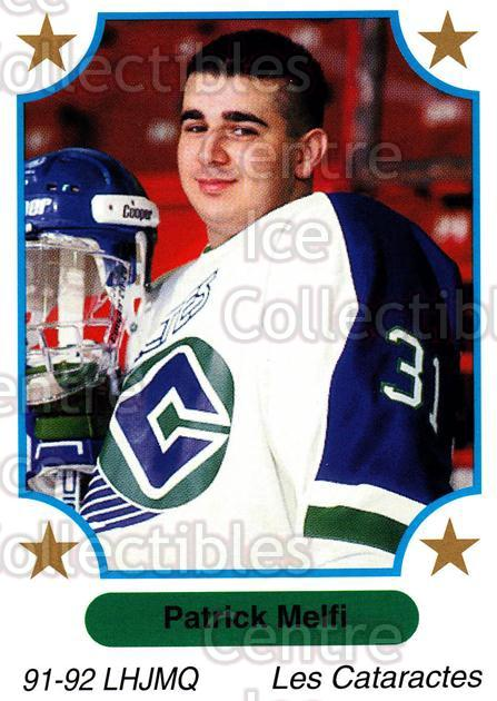 1991-92 7th Inning Sketch QMJHL #72 Patrick Melfi<br/>8 In Stock - $1.00 each - <a href=https://centericecollectibles.foxycart.com/cart?name=1991-92%207th%20Inning%20Sketch%20QMJHL%20%2372%20Patrick%20Melfi...&quantity_max=8&price=$1.00&code=172091 class=foxycart> Buy it now! </a>