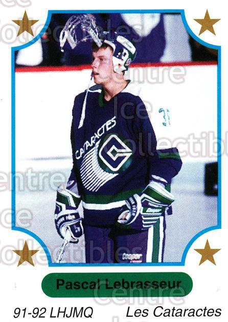 1991-92 7th Inning Sketch QMJHL #76 Pascal Lebrasseur<br/>7 In Stock - $1.00 each - <a href=https://centericecollectibles.foxycart.com/cart?name=1991-92%207th%20Inning%20Sketch%20QMJHL%20%2376%20Pascal%20Lebrasse...&quantity_max=7&price=$1.00&code=172095 class=foxycart> Buy it now! </a>