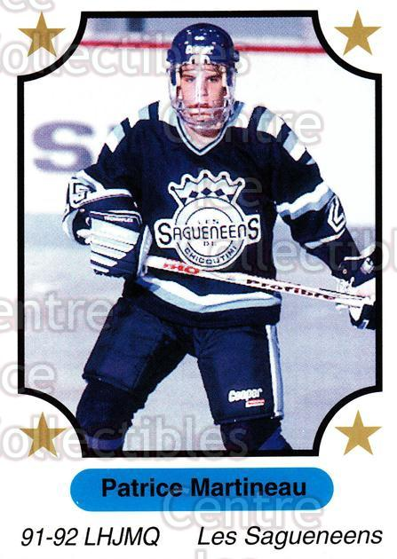 1991-92 7th Inning Sketch QMJHL #88 Patrice Martineau<br/>7 In Stock - $1.00 each - <a href=https://centericecollectibles.foxycart.com/cart?name=1991-92%207th%20Inning%20Sketch%20QMJHL%20%2388%20Patrice%20Martine...&price=$1.00&code=172108 class=foxycart> Buy it now! </a>