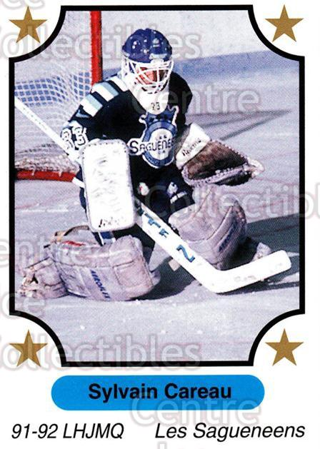 1991-92 7th Inning Sketch QMJHL #93 Sylvain Careau<br/>2 In Stock - $1.00 each - <a href=https://centericecollectibles.foxycart.com/cart?name=1991-92%207th%20Inning%20Sketch%20QMJHL%20%2393%20Sylvain%20Careau...&price=$1.00&code=172114 class=foxycart> Buy it now! </a>