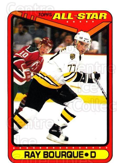 1990-91 Topps Tiffany #196 Ray Bourque<br/>1 In Stock - $3.00 each - <a href=https://centericecollectibles.foxycart.com/cart?name=1990-91%20Topps%20Tiffany%20%23196%20Ray%20Bourque...&quantity_max=1&price=$3.00&code=17267 class=foxycart> Buy it now! </a>
