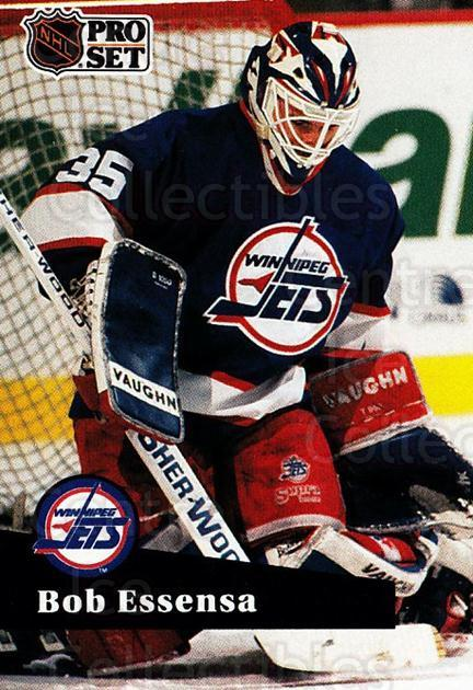 1991-92 Pro Set French #266 Bob Essensa<br/>5 In Stock - $1.00 each - <a href=https://centericecollectibles.foxycart.com/cart?name=1991-92%20Pro%20Set%20French%20%23266%20Bob%20Essensa...&quantity_max=5&price=$1.00&code=172692 class=foxycart> Buy it now! </a>