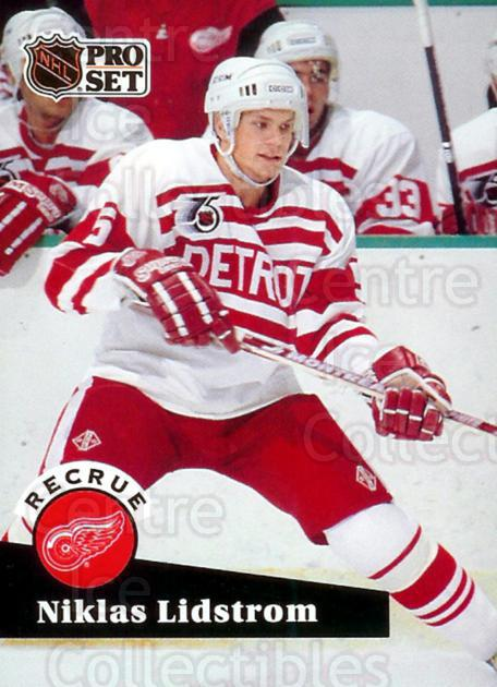 1991-92 Pro Set French #531 Nicklas Lidstrom<br/>1 In Stock - $3.00 each - <a href=https://centericecollectibles.foxycart.com/cart?name=1991-92%20Pro%20Set%20French%20%23531%20Nicklas%20Lidstro...&price=$3.00&code=172972 class=foxycart> Buy it now! </a>