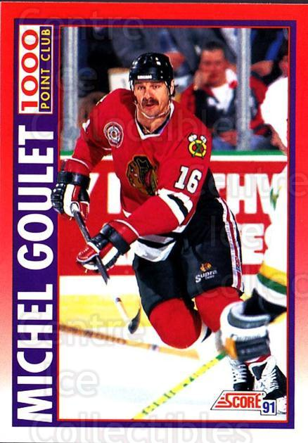 1991-92 Score Canadian English #265 Michel Goulet<br/>4 In Stock - $1.00 each - <a href=https://centericecollectibles.foxycart.com/cart?name=1991-92%20Score%20Canadian%20English%20%23265%20Michel%20Goulet...&quantity_max=4&price=$1.00&code=173891 class=foxycart> Buy it now! </a>