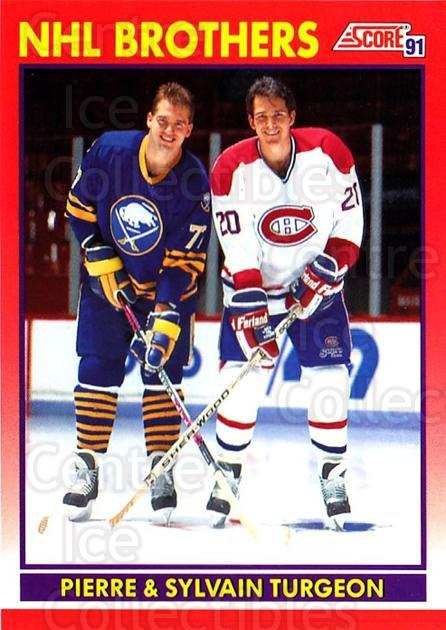 1991-92 Score Canadian English #267 Pierre Turgeon, Sylvain Turgeon<br/>1 In Stock - $1.00 each - <a href=https://centericecollectibles.foxycart.com/cart?name=1991-92%20Score%20Canadian%20English%20%23267%20Pierre%20Turgeon,...&quantity_max=1&price=$1.00&code=173893 class=foxycart> Buy it now! </a>