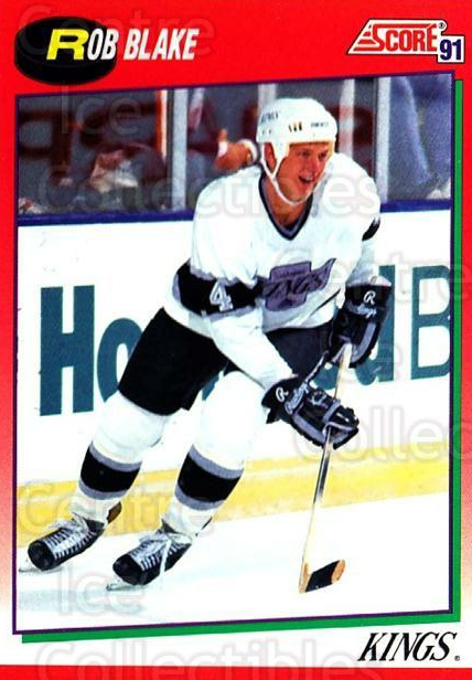 1991-92 Score Canadian English #27 Rob Blake<br/>2 In Stock - $1.00 each - <a href=https://centericecollectibles.foxycart.com/cart?name=1991-92%20Score%20Canadian%20English%20%2327%20Rob%20Blake...&quantity_max=2&price=$1.00&code=173896 class=foxycart> Buy it now! </a>