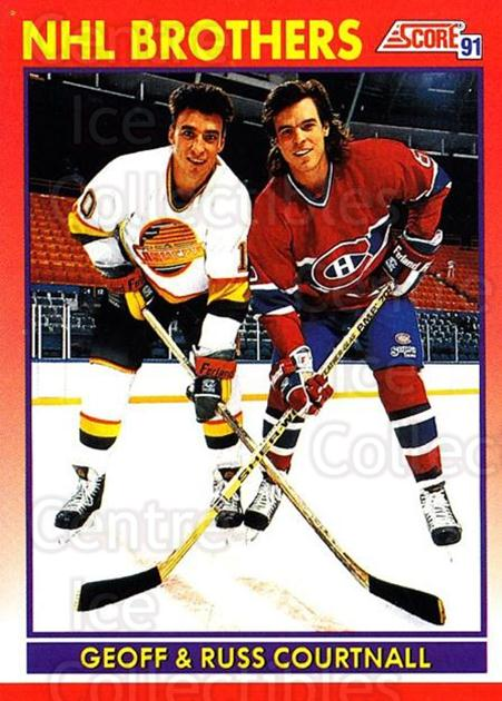 1991-92 Score Canadian English #270 Russ Courtnall, Geoff Courtnall<br/>2 In Stock - $1.00 each - <a href=https://centericecollectibles.foxycart.com/cart?name=1991-92%20Score%20Canadian%20English%20%23270%20Russ%20Courtnall,...&quantity_max=2&price=$1.00&code=173897 class=foxycart> Buy it now! </a>