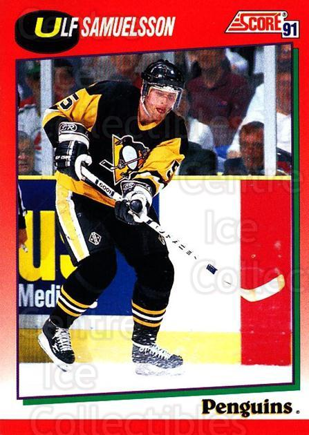 1991-92 Score Canadian English #82 Ulf Samuelsson<br/>2 In Stock - $1.00 each - <a href=https://centericecollectibles.foxycart.com/cart?name=1991-92%20Score%20Canadian%20English%20%2382%20Ulf%20Samuelsson...&quantity_max=2&price=$1.00&code=174308 class=foxycart> Buy it now! </a>