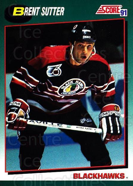 1991-92 Score Rookie Traded #103 Brent Sutter<br/>4 In Stock - $1.00 each - <a href=https://centericecollectibles.foxycart.com/cart?name=1991-92%20Score%20Rookie%20Traded%20%23103%20Brent%20Sutter...&quantity_max=4&price=$1.00&code=174330 class=foxycart> Buy it now! </a>