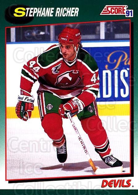 1991-92 Score Rookie Traded #31 Stephane Richer<br/>4 In Stock - $1.00 each - <a href=https://centericecollectibles.foxycart.com/cart?name=1991-92%20Score%20Rookie%20Traded%20%2331%20Stephane%20Richer...&quantity_max=4&price=$1.00&code=174361 class=foxycart> Buy it now! </a>