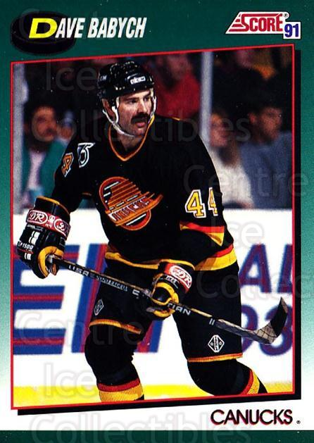 1991-92 Score Rookie Traded #34 Dave Babych<br/>4 In Stock - $1.00 each - <a href=https://centericecollectibles.foxycart.com/cart?name=1991-92%20Score%20Rookie%20Traded%20%2334%20Dave%20Babych...&quantity_max=4&price=$1.00&code=174364 class=foxycart> Buy it now! </a>
