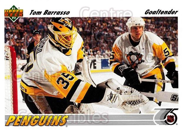1991-92 Upper Deck #116 Tom Barrasso<br/>7 In Stock - $1.00 each - <a href=https://centericecollectibles.foxycart.com/cart?name=1991-92%20Upper%20Deck%20%23116%20Tom%20Barrasso...&price=$1.00&code=174610 class=foxycart> Buy it now! </a>