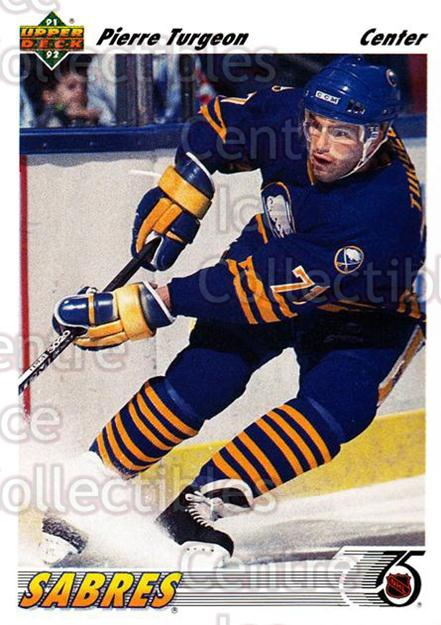 1991-92 Upper Deck #176 Pierre Turgeon<br/>5 In Stock - $1.00 each - <a href=https://centericecollectibles.foxycart.com/cart?name=1991-92%20Upper%20Deck%20%23176%20Pierre%20Turgeon...&quantity_max=5&price=$1.00&code=174664 class=foxycart> Buy it now! </a>
