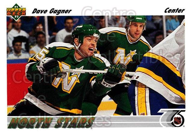 1991-92 Upper Deck #180 Dave Gagner<br/>6 In Stock - $1.00 each - <a href=https://centericecollectibles.foxycart.com/cart?name=1991-92%20Upper%20Deck%20%23180%20Dave%20Gagner...&quantity_max=6&price=$1.00&code=174668 class=foxycart> Buy it now! </a>