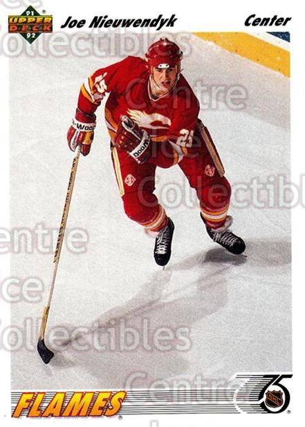 1991-92 Upper Deck #263 Joe Nieuwendyk<br/>7 In Stock - $1.00 each - <a href=https://centericecollectibles.foxycart.com/cart?name=1991-92%20Upper%20Deck%20%23263%20Joe%20Nieuwendyk...&quantity_max=7&price=$1.00&code=174753 class=foxycart> Buy it now! </a>