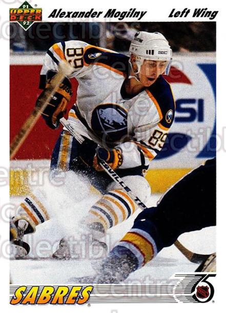 1991-92 Upper Deck #267 Alexander Mogilny<br/>6 In Stock - $1.00 each - <a href=https://centericecollectibles.foxycart.com/cart?name=1991-92%20Upper%20Deck%20%23267%20Alexander%20Mogil...&quantity_max=6&price=$1.00&code=174757 class=foxycart> Buy it now! </a>
