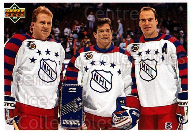 1991-92 Upper Deck #610 Brian Leetch, Mike Richter, Mark Messier<br/>8 In Stock - $1.00 each - <a href=https://centericecollectibles.foxycart.com/cart?name=1991-92%20Upper%20Deck%20%23610%20Brian%20Leetch,%20M...&quantity_max=8&price=$1.00&code=175021 class=foxycart> Buy it now! </a>