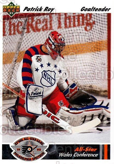 1991-92 Upper Deck #614 Patrick Roy<br/>10 In Stock - $2.00 each - <a href=https://centericecollectibles.foxycart.com/cart?name=1991-92%20Upper%20Deck%20%23614%20Patrick%20Roy...&quantity_max=10&price=$2.00&code=175023 class=foxycart> Buy it now! </a>