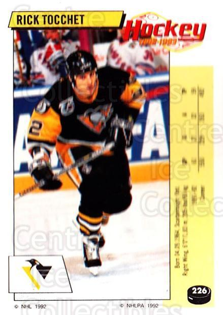 1992-93 Panini Stickers #226 Rick Tocchet<br/>7 In Stock - $1.00 each - <a href=https://centericecollectibles.foxycart.com/cart?name=1992-93%20Panini%20Stickers%20%23226%20Rick%20Tocchet...&quantity_max=7&price=$1.00&code=175622 class=foxycart> Buy it now! </a>