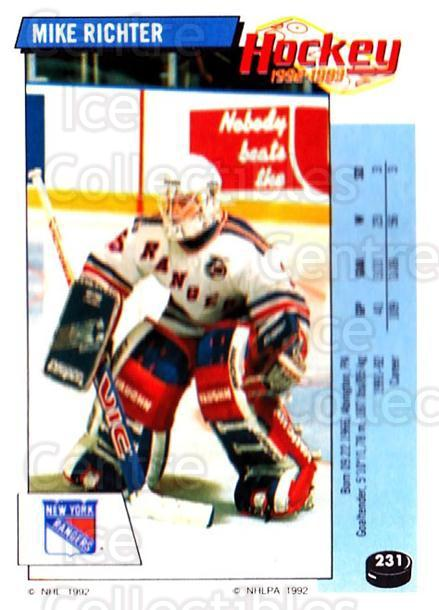 1992-93 Panini Stickers #231 Mike Richter<br/>1 In Stock - $1.00 each - <a href=https://centericecollectibles.foxycart.com/cart?name=1992-93%20Panini%20Stickers%20%23231%20Mike%20Richter...&quantity_max=1&price=$1.00&code=175628 class=foxycart> Buy it now! </a>